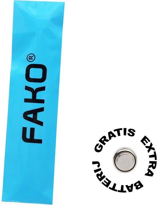 Fako Bijoux® - Horloge - Geneva - Classic Rosé Gold - Wit