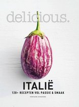 Boek cover delicious Italië van Delicious.Magazine (Hardcover)
