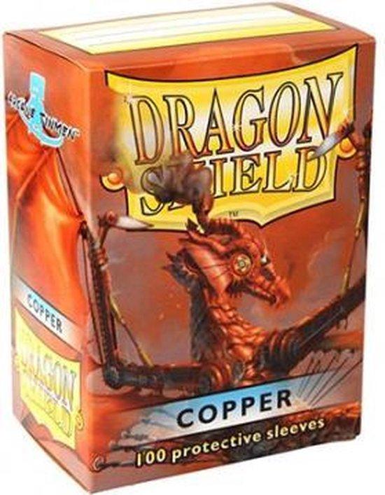 SLEEVES Dragon Shield MATTE - Copper (100ct) - EN