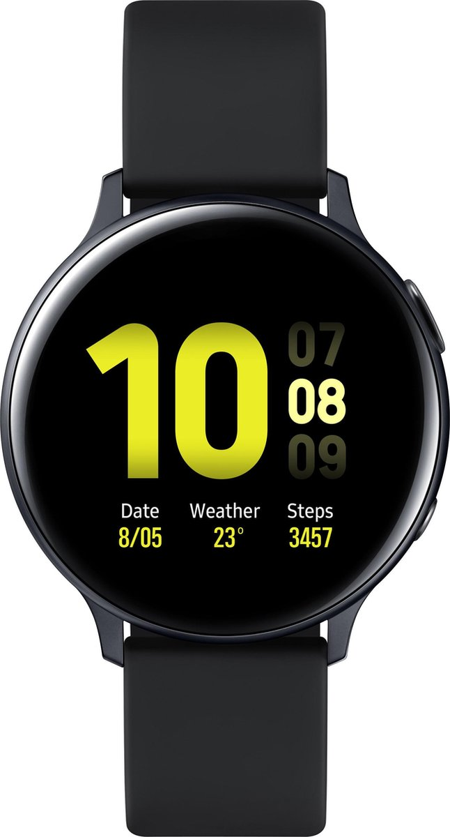 Samsung Galaxy Watch Active2 - Aluminium- Smartwatch - 44 mm - Zwart