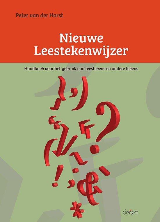 Nieuwe Leestekenwijzer - Peter van der Horst pdf epub