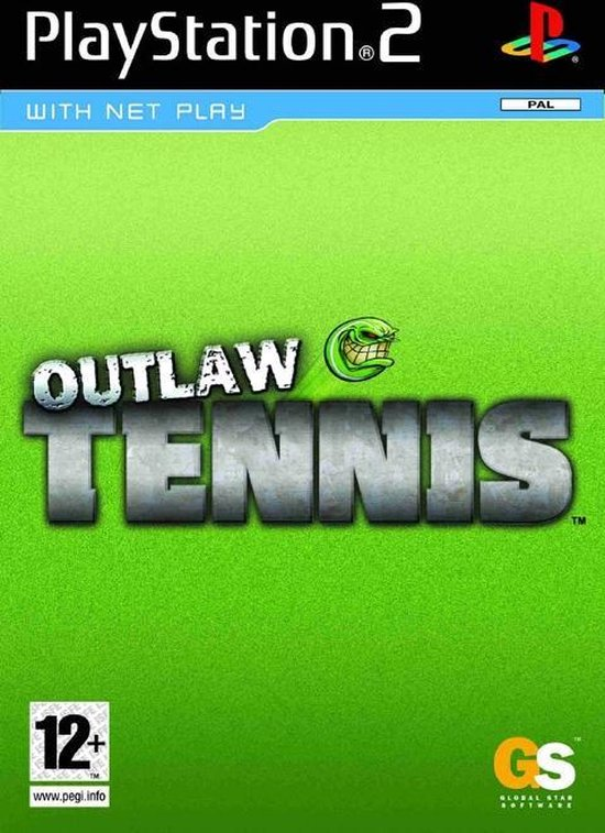Outlaw Tennis  PS2  (Import)