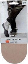 Steps - Sneaker sokken - Skin - kruipen niet onder je voet - Unisex - S/M - Maat 35-38