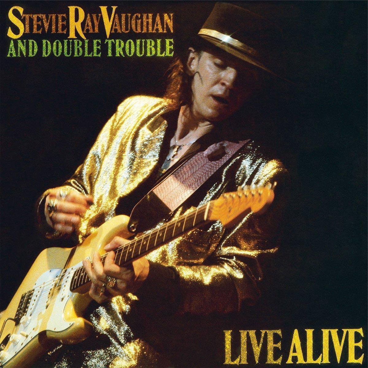 Live Alive (LP) - Stevie Ray Vaughan