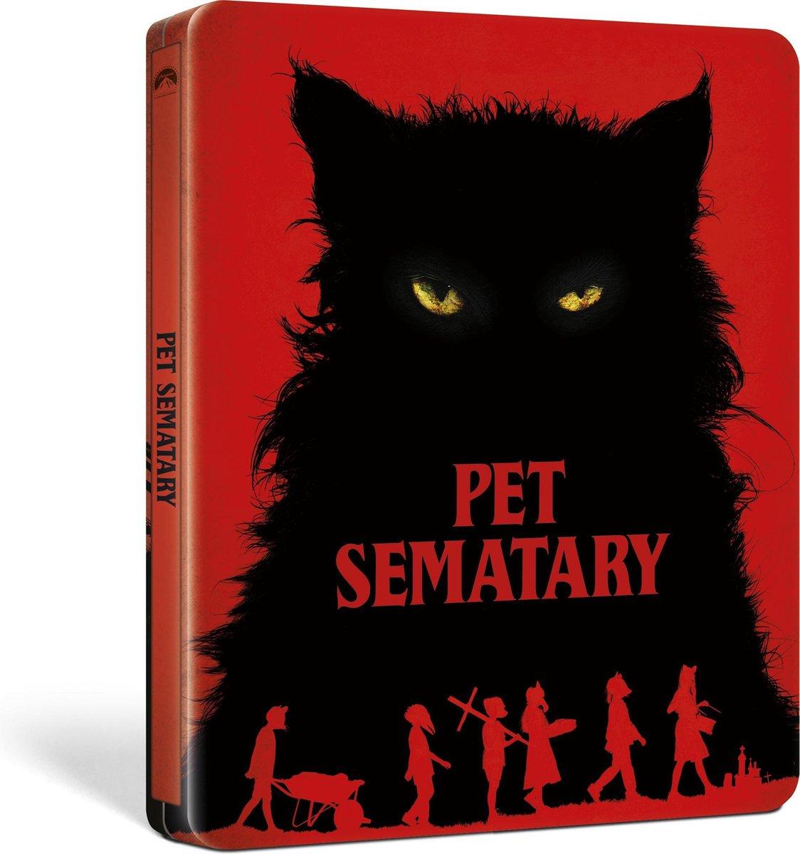Pet Sematary (2019) (Steelbook) (4K Ultra HD Blu-ray)-