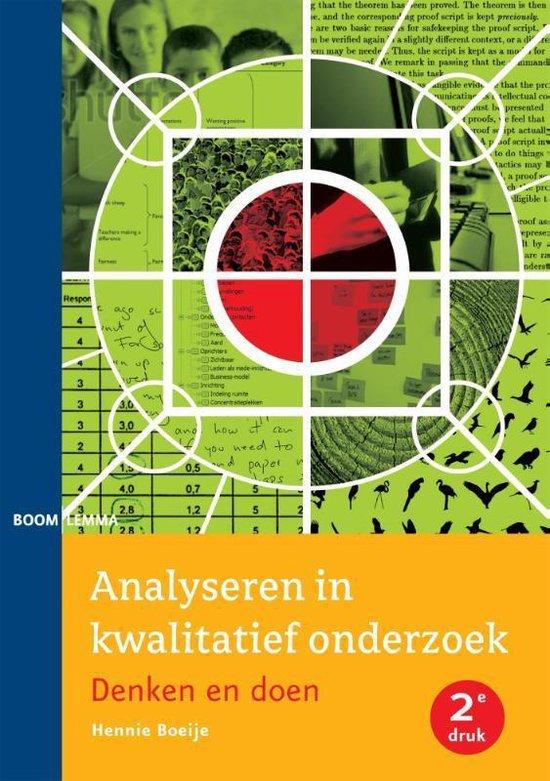 Analyseren in kwalitatief onderzoek - Hennie Boeije   Fthsonline.com