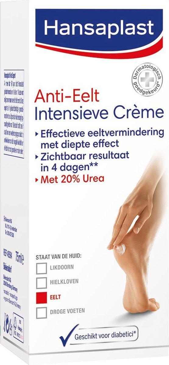 Hansaplast Anti-Eelt Intensieve Crème - Voetcrème - 75 ml