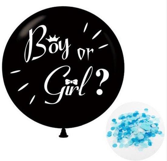 Gender reveal ballon - 91cm - Jongen