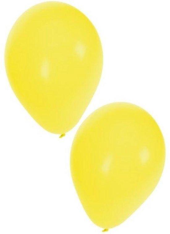 Ballon 50 x geel nr 10
