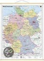 Deutschland, politisch 1 : 1 700 000. Wandkarte Mini-Format