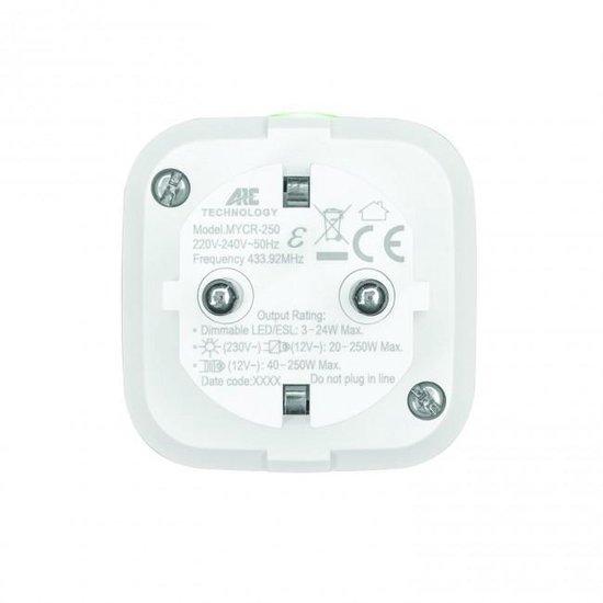 KlikAanKlikUit Startset - 2 Stopcontactdimmers met Afstandsbediening - ACC2-20R