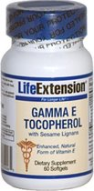 E Gamma tocoferol met sesam Lignans (60 gelcapsules) - Life Extension