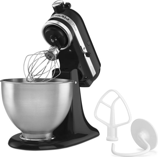 KitchenAid K45SSEOB Classic - Keukenmachine - zwart