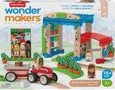 Fisher-Price Wonder Makers Stad - Houten Bouwset