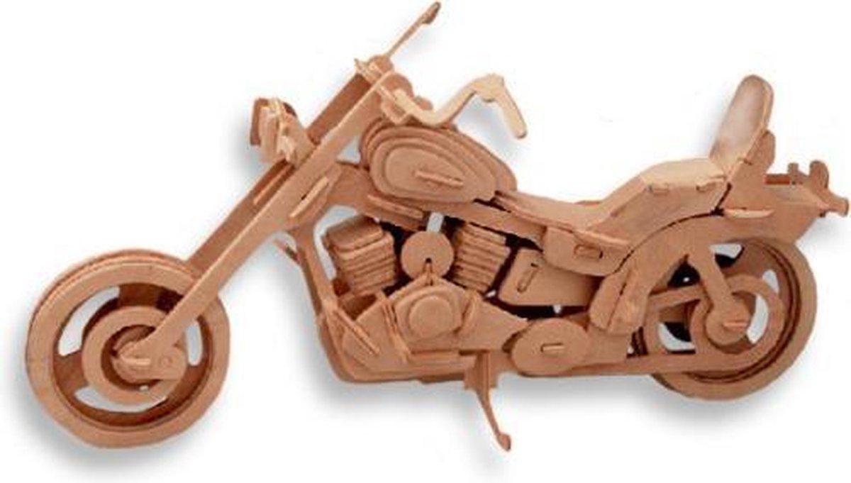 Cross motor – Houten bouwpakket – 25 cm   Hobby&Co   Houten