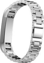 YONO RVS bandje - Fitbit Alta (HR) - Zilver
