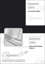 Elegance Laken Katoen Perkal - donker blauw 200x260
