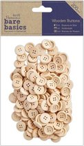 Houten Buttons (200 stuks)