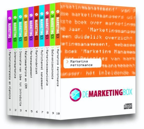 Cover van het boek 'De Marketingbox'