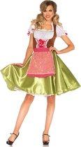 Darling Greta Dirndl kostuum voor dames  - Oktoberfest  Verkleedkleding    maat L  ( 40 )