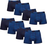 Puma Boxershorts 8-pack Stripe Blue-S