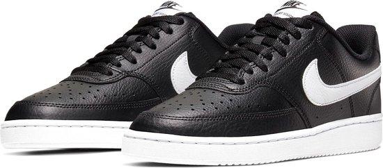 Nike Court Vision  Sneakers - Maat 40.5 - Unisex - zwart/wit
