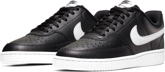 Nike Court Vision  Sneakers - Maat 38.5 - Unisex - zwart/wit