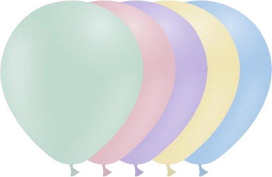 Gekleurde Ballonnen Pastel 30cm 50 stuks