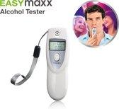 EasyMaxx Digitale Alcoholtester PREMIUM Ademtest Blaastest - Alcohol Adem Tester - Geschikt voor Frankrijk