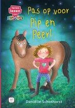 Leren lezen met Kluitman  -   Pas op voor Pip en Peer!