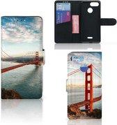 Xiaomi Redmi 6 Flip Cover Golden Gate Bridge