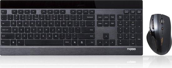 Rapoo Wireless Laser Combo 8900P Draadloze muis en toetsenbord combinatie
