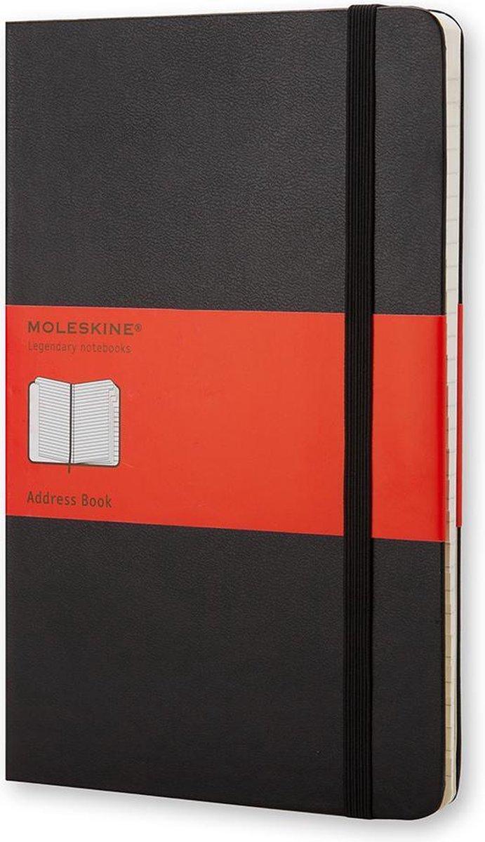 Moleskine Adresboek Hard cover - Pocket - Zwart