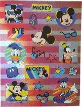 Glitter stickers Mickey & Friends