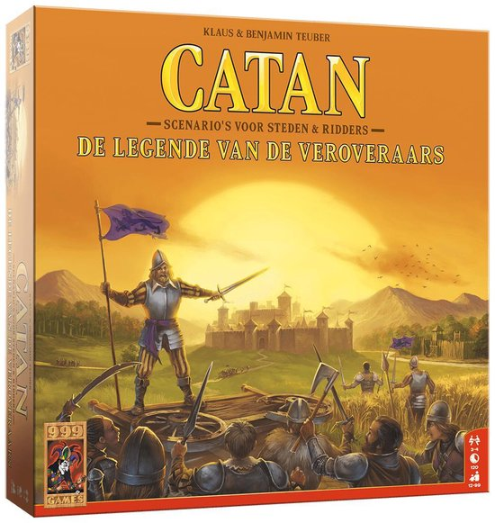 Afbeelding van het spel 999 games Catan: De legende van de veroveraars