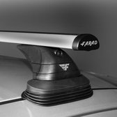Dakdragers Opel Zafira MPV vanaf 2012 - Farad aluminium