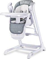Kinderstoel 0+ new borns 2 in 1 Caretero Indigo grijs, met swing functie