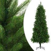 vidaXL Kunstkerstboom met levensechte naalden 240 cm groen