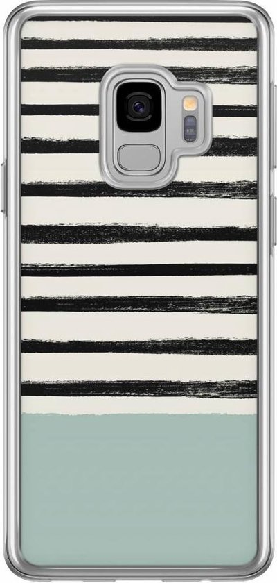 Samsung Galaxy S9 siliconen hoesje - Stripes on stripes