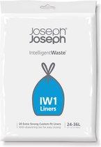 Joseph Joseph Intelligent Waste Afvalzakken - 24-36 liter - 20 stuks - Zwart