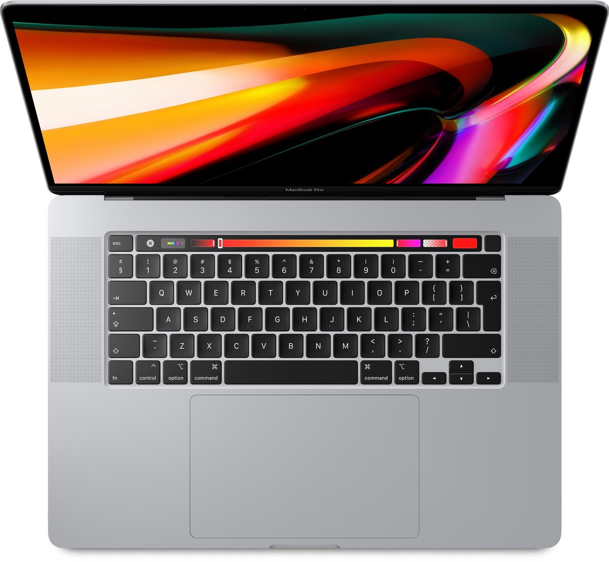 Apple MacBook Pro (2019) Touchbar MVVM2 - 16 inch - intel Core i9 - 1TB- Zilver