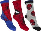 Spiderman sokken 3 paar ( maat 27-30 )