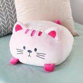 Balvi kussen kat Kitty roze