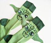 Star Wars sokken - Yoda - maat 39-43 - grappige heren sokken