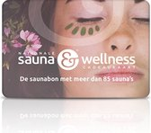 Nationale Sauna & Wellness cadeaukaart 50,-