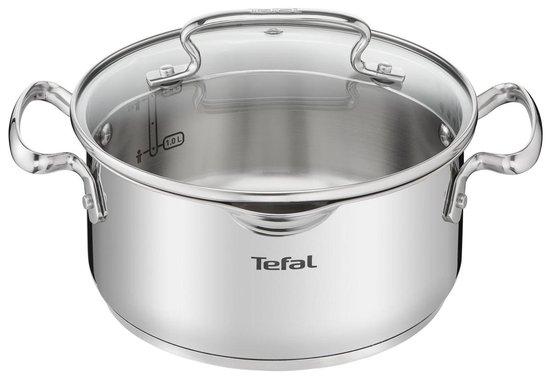Tefal Duetto + Pannenset - 4 delige kookset - Geschikt voor alle warmtebronnen, ook inductie