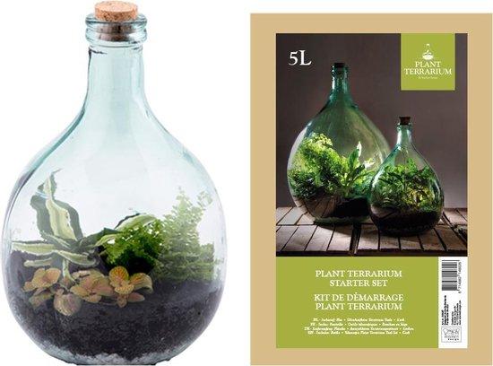Esschert Design Plant Terrarium Starter set - Terrarium - 5 Liter