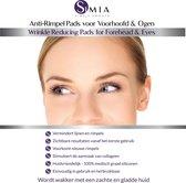 SIMIA™ Beauty Pads - Anti Rimpel Pads voor Voorhoofd en Ogen - Anti-Aging - Herbruikbare, Huidvriendelijke & Effectieve Gelpads tegen Lijntjes en Rimpels