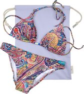 SUITSUIT Fabolous Fifties Bikini Tas - Paisley Purple