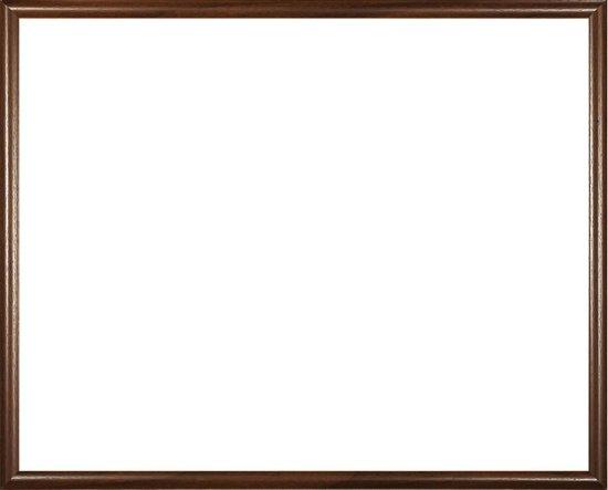 Homedecoration Biggy – Fotolijst – Fotomaat – 59 x 79 cm – Kunststof – Bruin met houtstructuur